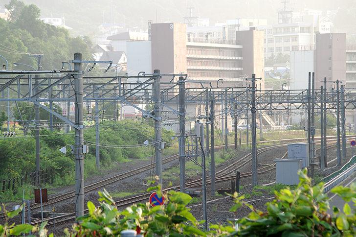 小樽の線路